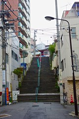 Steep stairs (pelican) Tags: japan stairs tokyo shrine kandamyojin dscrx100