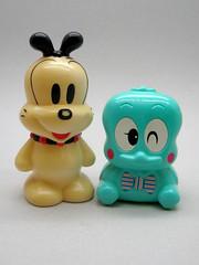 Vintage Japanese Coin Banks (The Moog Image Dump) Tags: sun money cute vintage toy japanese coin box bank kawaii figure ward coinbank sunward ドッグ ボブ リトル サンワード
