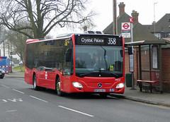 GAL MB MEC57 - BF65HUY - GREEN STREET GREEN - TUE 15TH MAR 2016 (Bexleybus) Tags: street bus green london ahead mercedes garage go route metrobus tfl orpington 358 goahead ciraro mec57 bf65huy