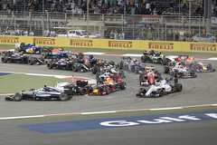 F1 race - Ricciardo wing sparking (JaffaPix +3 million views-thank you.) Tags: cars race racecar mercedes williams hamilton f1 grandprix formula1 motorsport sakhir williamsf1 carrace f1bahrain bahraingrandprix motorrace bottas ricciardo gulfairgrandprix mercedesf1 jaffapix f12016 davejefferys jaffapixcom f1bahrain2016