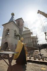 05. Consecrating of the bells in Adamovka Village / Освящение колоколов в Аламовке