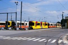 Charleroi (Jan Dreesen) Tags: tram tramway lightrail stadtbahn metro mlc tec charleroi jumet dépôt stelplaats bn acec 6100 7400 henegouwen hainaut 7435