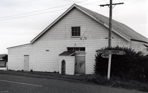 Pukehiki Hall, Highcliff Road c1973