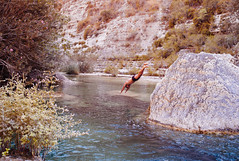 dive (gorbot.) Tags: summer river canyon sicily sicilia cavagrandedelcassibile leicam8 carlzeiss35mmbiogonf2zm