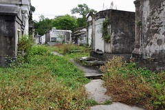 New Orleans - Wild Silence (Drriss & Marrionn) Tags: usa cemetery grave graveyard concrete outdoor neworleans headstone tomb graves funeral mausoleum granite sarcophagus burial marble tombs lafayettecemetery deceased gravefield vaults crypts neworleansla