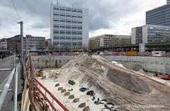 Baustelle Bahnhofsplatz 38 (Susanne Schweers) Tags: max baustelle architektur bremen architekt citygate hochhuser bahnhofsplatz dudler maxdudler bebauung