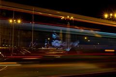 Cibeles flasheada (Carlos Gaiteiro) Tags: madrid christmas street night navidad noche nocturna cibeles largaexposicin