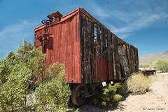 The final stop (claudiov958) Tags: arizona train wagon desert tucson ngc photoka nikkor240700mmf28 nikond800e claudiovaldes