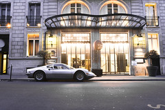 From Quebec with love (3KP) Tags: auto paris france classic car de grey gris hotel automobile italia dino champs ile grand ferrari voiture palais gt arrondissement italie lyses ancienne classique 8me 246 246gt grise grigrio ilalienne
