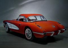 1959 Corvette (Toytone) Tags: chevrolet corvette 1959 modelcar diecast autoart
