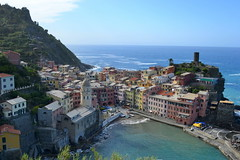 Vernazza (daleboettcher) Tags: italy water landscape seaside shore terre vernazza cinque