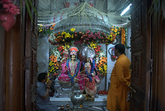 Sanctum Sanctorum (VinayakH) Tags: india religious temple delhi hindu hinduism chattarpur katyayani