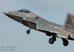 Lockheed Martin F-22A Raptor 04-4072 TY RAF Lakenheath (liam.killington) Tags: nikon martin aircraft aviation military 300mm ty raptor stealth nikkor lockheed f4 f22a fastjet raflakenheath d7100 044072
