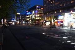 Rathausstrae bei Nacht (Pascal Volk) Tags: berlin night nacht bluehour berlinmitte blauestunde rathausstrase sonydscrx100