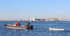 Early morning cruise (jmaxtours) Tags: police lakeontario towing torontoharbour tps torontopolice policeboat marineunit tpls torontopoliceservices torontopolicemarineunit