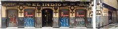 El Indio Lencera Laneras Blada y Riera Sederas Novedades Paolera Mantelera (neg_ocio) Tags: cerrado juego letrero antiguo cartel tipografa tradicional negocio