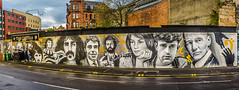 Famous Faces At The Clutha Glasgow (Brian Travelling Getty Contributor) Tags: street art dedication scotland riverclyde interesting mural memorial cityscape faces pentax crash glasgow famous tragedy clutha musicvenue helicoptercrash cluthavaults stockwellstreet glasgowpub bondairservices glasgowmusicvenue pentaxkr policescotland