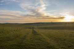 Belle Tout & Beachy Head at Sunset (Matt Kuchta) Tags: park sunset lighthouse downs head south national belle beachy tout