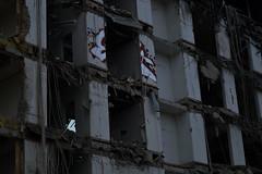destruction (tuukkasaari) Tags: buildings graffiti construction demolition