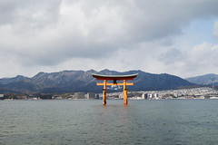 / Itsukushima Shinto Shrine (yiming1218) Tags: sea japan architecture zeiss landscape japanese 50mm shrine sony hiroshima miyajima f2 50 shinto torii   itsukushima      a7ii  loxia a7m2 ilce7m2