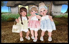 Butterflies & Little Stars (delisadventures) Tags: life pink blue trees roses summer baby white mushroom rose yellow butterfly outdoors kid spring dress lace butterflies sl flats purse secondlife dresses second summertime shorts wish brunette pigtails bangs bun binky hangout springtime slipons dres spellbound littlestars slfashion secondlifefashion slkids slkid slfamily slbaby slfashionblog slblogger barberyumyum toddleedoo toddleedoos toddledoo tweeneedoos babykidsizes
