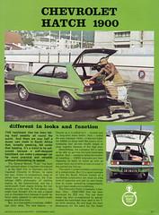 1976 Road Test of Chevrolet Hatch (vetaturfumare - thanks for 3 MILLION views!!!) Tags: chevrolet southafrica chevy 1900 motor hatch za 1300 gmsa samotor chevrolet1900