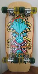 Bulldog Skates tiki (longboardsusa) Tags: usa bulldog skate skateboards tiki skates longboards longboarding