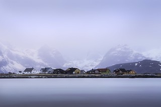 Le soir frileux, Ramberg, Norvège