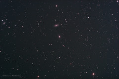 Draco Galaxy Trio 29.04.16 (Damien Weatherley) Tags: sky night stars space galaxy astrophotography astronomy galaxies universe astrometrydotnet:status=solved astrometrydotnet:id=nova1535465
