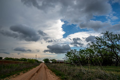 Storm In Green and Blue (72 of 134) (mharbour11) Tags: blue green beauty clouds texas harbour farm country dirt thunderstorm roads storms tornado fm sweetwater thunderhead