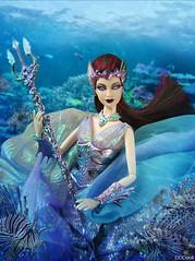 WaterSprite (dddDolls) Tags: sea water doll alien under barbie sprite empress