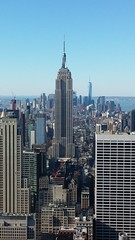 Picure of Empire State Building from Rockefeller Center (HIGDON FAMILY) Tags: new york city nyc newyork rock center 30rock rockafeller rockafellercenter 2016
