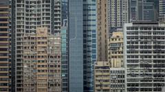 Hong Kong Density (HutchSLR) Tags: china city skyline architecture skyscraper canon hongkong cityscape skyscrapers chinese density hutchslr