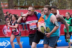 Anything is possible (V Photography and Art) Tags: london help finish runners carry helping finishline themall londonmarathon2016