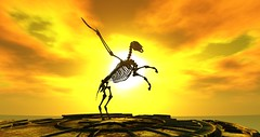Pegasus (Simon Sonnenblume) Tags: pegasus secondlife flyinghorse