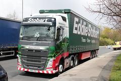 H4257 DEANNA VICTORIA KN15 DVB (Barrytaxi) Tags: yorkshire transport wakefield eddie stobart eddiestobart