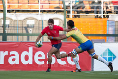 Rugby - Brasil x Chile (plopesfoto) Tags: chile brasil rugby campo kickoff try bola dummy touchdown jogo esporte chute scrum torneio pacaembu penal rugbyunion jogador tupis oitavo esportista dropgoal