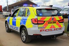 Cambridgeshire Police BMW X5 Roads Policing Unit Traffic Car (PFB-999) Tags: england car traffic 4x4 police east bmw vehicle leds roads peterborough cambridgeshire grilles unit x5 cambs 2016 showground rpu lightbar truckfest constabulary policing of fendoffs dashlight ae64bww