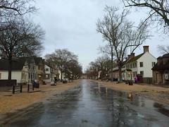 Rainy Colonial Williamsburg (sblinn) Tags: building history rain architecture virginia site colonial historic rainy williamsburg raining