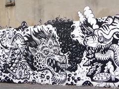 NYC 2015 (bella.m) Tags: nyc usa streetart newyork art graffiti mural dragon manhattan urbanart tatscru themuralkings