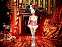 Christmas Doll (gingerfanshaw) Tags: suki blowup shakeup epoch aliceproject eternaldreams thelittlebat swallowskin afidesigns embw maitreyameshbody lelutkameshhead