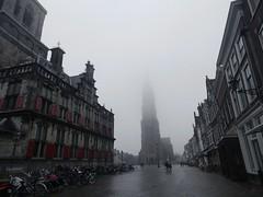 Delft Jan. 24-01-16 (JoséDay) Tags: winter mist church fog grey thenetherlands delft kerkplein nikoncoolpixp500 coldwintertime nederlandstaligvriendenforum 52weeksthe2016edition week4themeoutdoor week42016 week4outdoor weekstartingfridayjanuary222016