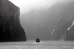 Into The Gloom (Alan1954) Tags: newzealand holiday water boat fjord milfordsound 2014 platinumheartaward platinumpeaceaward