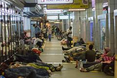 Belgrad, Serbien, 2015 (boellstiftung) Tags: refugee refugees homeless belgrade asylum beograd busstation belgrad asylumseeker flchtlinge serbien asyl gradbeograd auswahl1fluchtroute