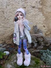 Petite promenade hivernale (koikokoro) Tags: chloe fairyland chimères tendres minifee meezr