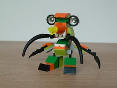 LEGO MIXELS DRIBBAL BALK MIX or MURP ? Instructions Lego 41548 Lego 41517 (Totobricks) Tags: mix lego howto instructions build series2 balk flexers murp series6 mixels legomixels lego41517 glorpcorp totobricks dribbal lego41548