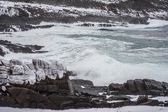 Cape Spear - 2016 - Awash (Clif Budden) Tags: canada nature newfoundland outdoors january stjohns environment nl capespear 2016