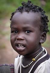 Anuak Girl (Rod Waddington) Tags: africa portrait people girl female beads child outdoor african afrika omovalley ethiopia ethnic ethnicity afrique ethiopian dimma etiopia ethiopie etiopian