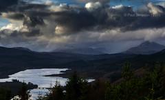 The best viewpoint in the world? (pauls1502) Tags: mountains landscape scotland glen loch glengarry knoydart lochgarry scottishhighlands sgurramhaoraich glenquiochforest