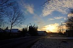 Sunny Day in January (swetlanahasenjäger) Tags: winter wolken sonne januar greifswald nwn mecklenburgvorpommern windmühle stadtlandschaft saariysqualitypictures contactgroups magicmomentsinyourlife 18012016